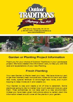 Garden & Planting