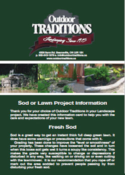Sod & Lawn Projects